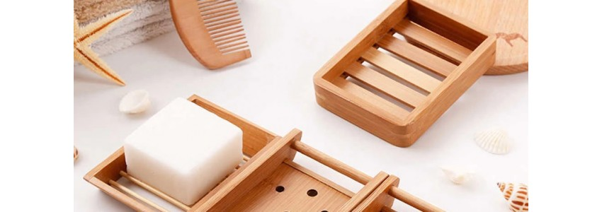Accessoires bambou et bois liquide
